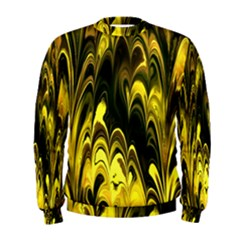 Fractal Marbled 15 Men s Sweatshirts