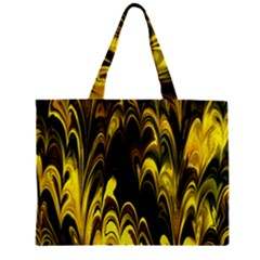 Fractal Marbled 15 Zipper Tiny Tote Bags