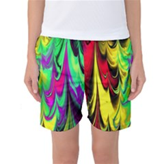 Fractal Marbled 14 Women s Basketball Shorts
