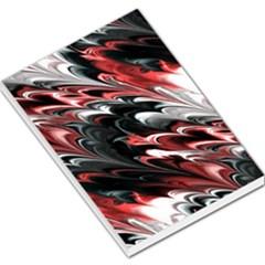 Fractal Marbled 8 Large Memo Pads