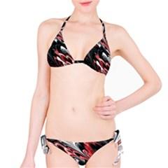Fractal Marbled 8 Bikini Set