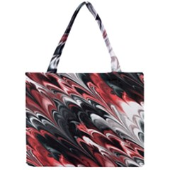 Fractal Marbled 8 Tiny Tote Bags