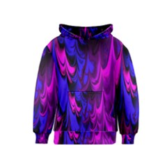 Fractal Marbled 13 Kid s Pullover Hoodies