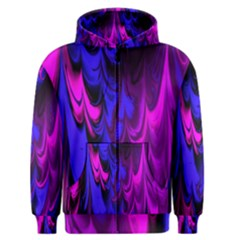 Fractal Marbled 13 Men s Zipper Hoodies