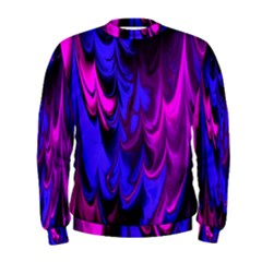 Fractal Marbled 13 Men s Sweatshirts