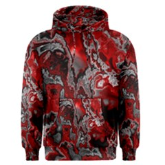 Fractal Marbled 07 Men s Pullover Hoodies