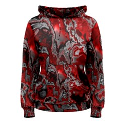 Fractal Marbled 07 Women s Pullover Hoodies
