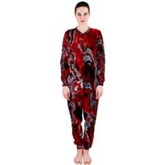 Fractal Marbled 07 Onepiece Jumpsuit (ladies)