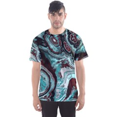Fractal Marbled 05 Men s Sport Mesh Tees
