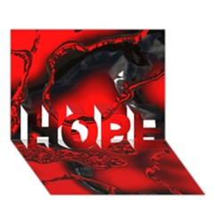 Abstract Art 11 HOPE 3D Greeting Card (7x5)
