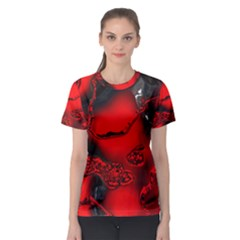 Abstract Art 11 Women s Sport Mesh Tees