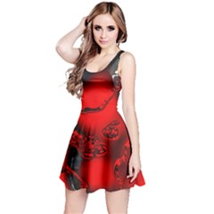 Abstract Art 11 Reversible Sleeveless Dresses