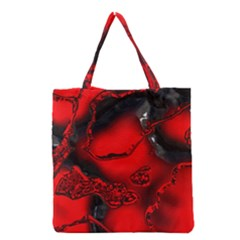 Abstract Art 11 Grocery Tote Bags
