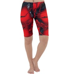 Abstract Art 11 Cropped Leggings