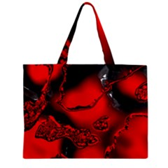 Abstract Art 11 Zipper Tiny Tote Bags