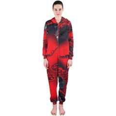 Abstract Art 11 Hooded Jumpsuit (ladies)