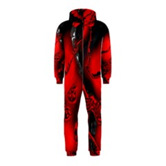 Abstract Art 11 Hooded Jumpsuit (kids)