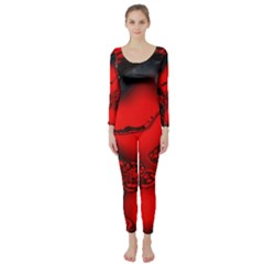 Abstract Art 11 Long Sleeve Catsuit