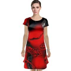 Abstract Art 11 Cap Sleeve Nightdresses