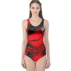 Abstract Art 11 Women s One Piece Swimsuits