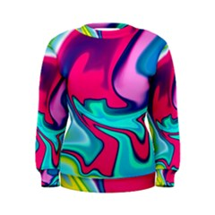 Fluid Art 22 Women s Sweatshirts
