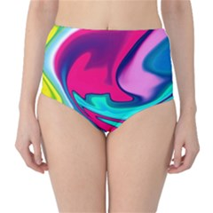 Fluid Art 22 High Waist Bikini Bottoms