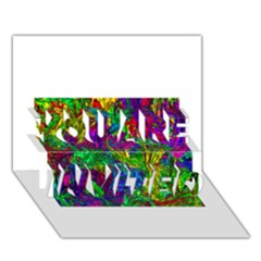 Liquid Plastic YOU ARE INVITED 3D Greeting Card (7x5)