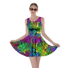 Liquid Plastic Skater Dresses