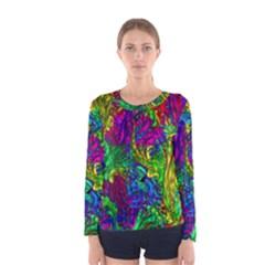 Liquid Plastic Women s Long Sleeve T-shirts
