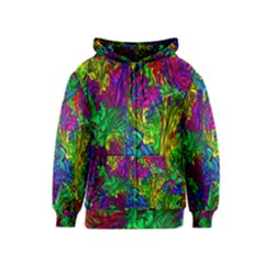 Liquid Plastic Kids Zipper Hoodies