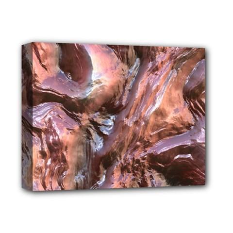 Wet Metal Structure Deluxe Canvas 14  X 11