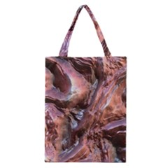 Wet Metal Structure Classic Tote Bags