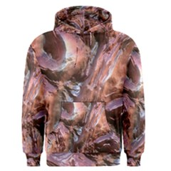 Wet Metal Structure Men s Pullover Hoodies