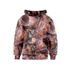 Wet Metal Structure Kid s Pullover Hoodies