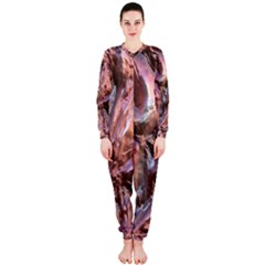 Wet Metal Structure Onepiece Jumpsuit (ladies)