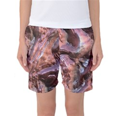 Wet Metal Structure Women s Basketball Shorts