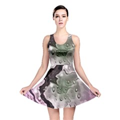 Wet Metal Pink Reversible Skater Dresses