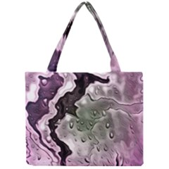 Wet Metal Pink Tiny Tote Bags