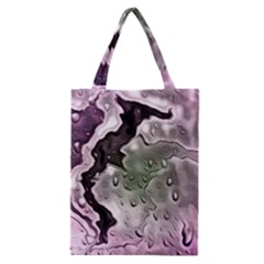 Wet Metal Pink Classic Tote Bags