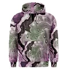 Wet Metal Pink Men s Pullover Hoodies
