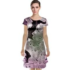 Wet Metal Pink Cap Sleeve Nightdresses