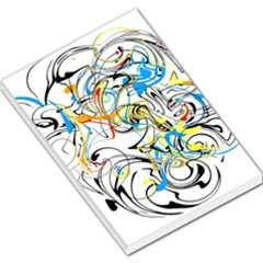Abstract Fun Design Large Memo Pads