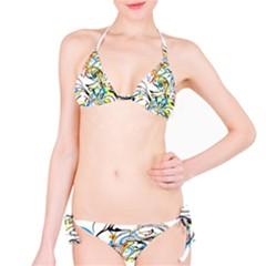 Abstract Fun Design Bikini Set