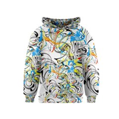 Abstract Fun Design Kid s Pullover Hoodies