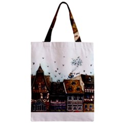 Rooftop Classic Tote Bags