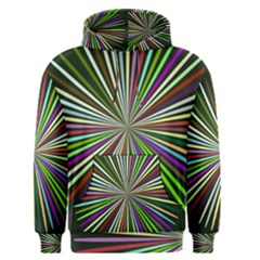 Colorful rays Men s Pullover Hoodie