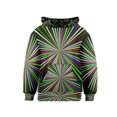 Colorful rays Kid s Pullover Hoodie