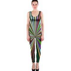Colorful rays OnePiece Catsuit