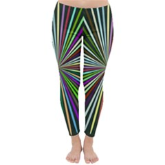 Colorful rays Winter Leggings