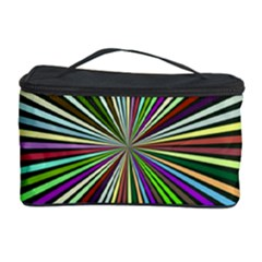 Colorful rays Cosmetic Storage Case